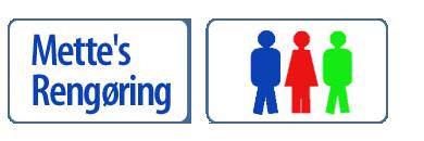 Mettes Rengøring logo